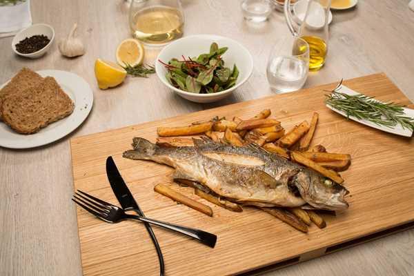 "Gurmanski ""fish and chips"" od brancina"