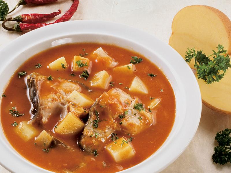 Pikantna riblja juha