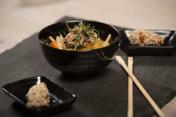 Glazirani žličnjaci hame s miso-juhom