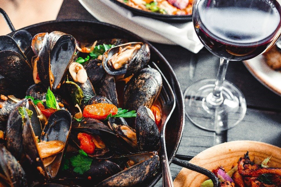 Morski plodovi i njihovi komplementarni okusi