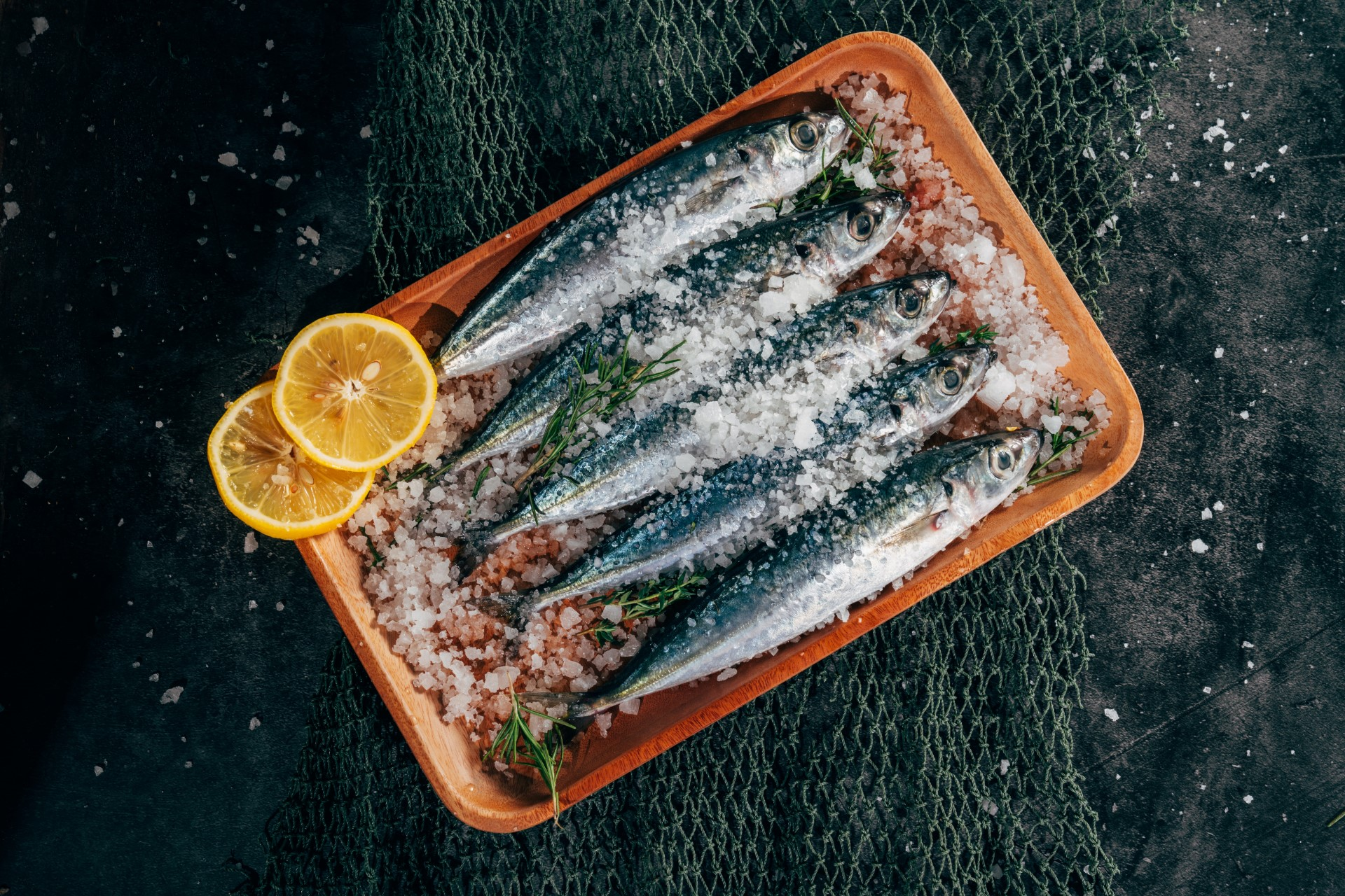 Riba u soli, a nije slana!